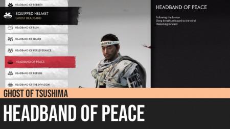 Ghost of Tsushima: Headband of Peace