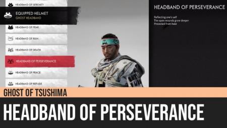 Ghost of Tsushima: Headband of Perseverance