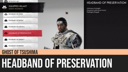 Ghost of Tsushima: Headband of Preservation