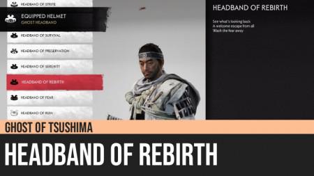 Ghost of Tsushima: Headband of Rebirth