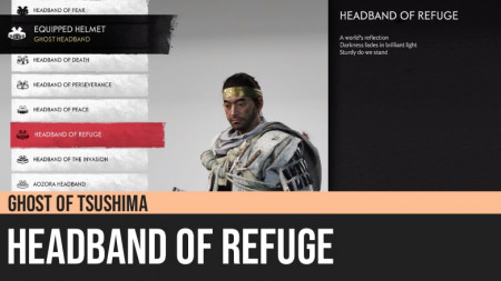 Ghost of Tsushima: Headband of Refuge