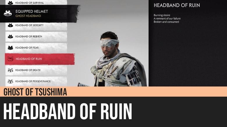Ghost of Tsushima: Headband of Ruin