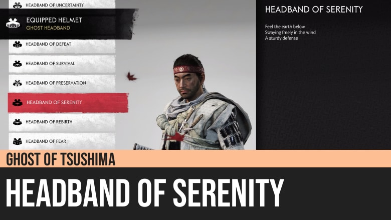 Ghost of Tsushima: Headband of Serenity