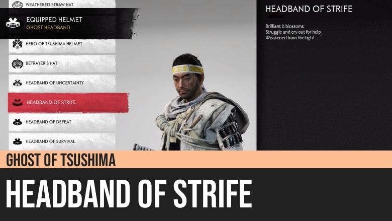 Ghost of Tsushima: Headband of Strife