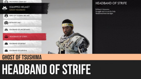 Ghost of Tsushima: Headband of Strife
