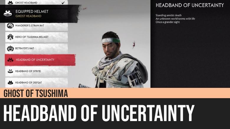 Ghost of Tsushima: Headband of Uncertainty