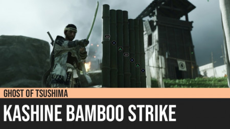 Ghost of Tsushima: Kashine Bamboo Strike