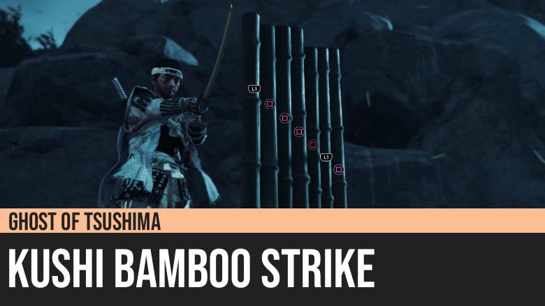 Ghost of Tsushima: Kushi Bamboo Strike