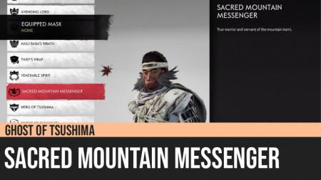 Ghost of Tsushima: Sacred Mountain Messenger