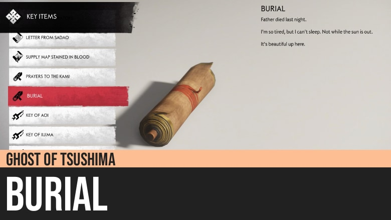 Ghost of Tsushima: Burial