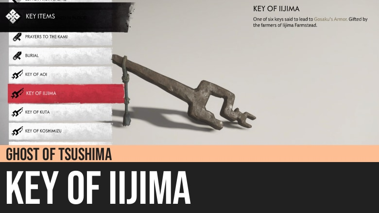 Ghost of Tsushima: Key of Iijima
