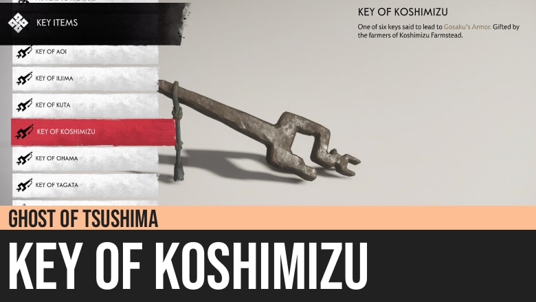 Ghost of Tsushima: Key of Koshimizu