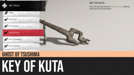 Ghost of Tsushima: Key of Kuta