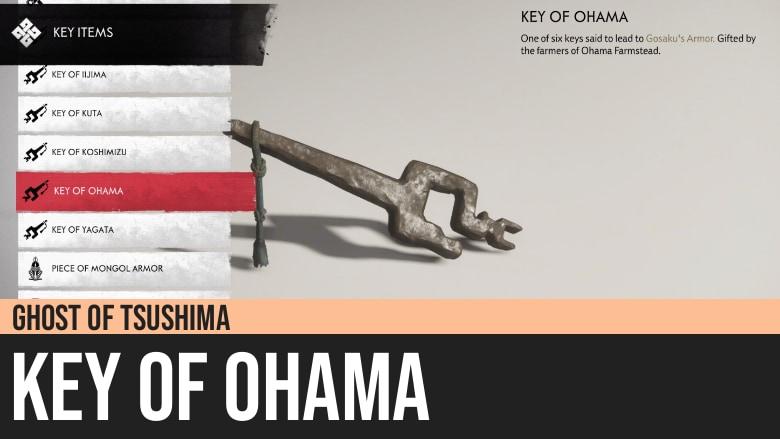 Ghost of Tsushima: Key of Ohama