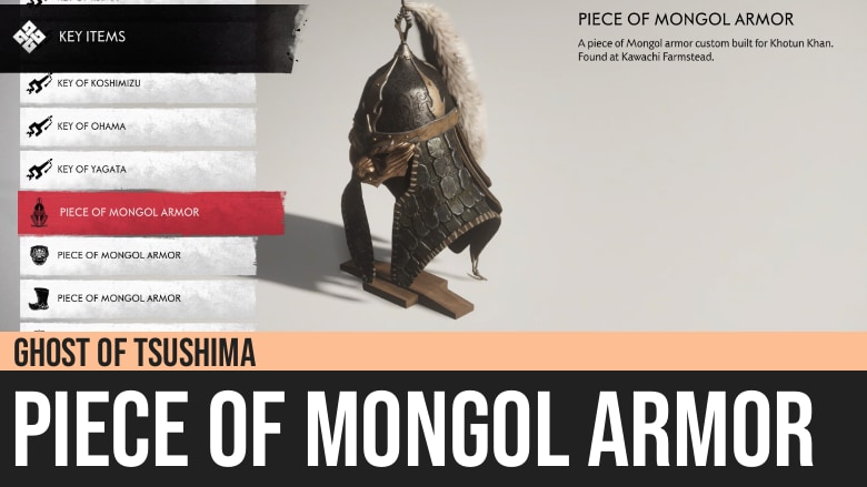 Ghost of Tsushima: Piece of Mongol Armor