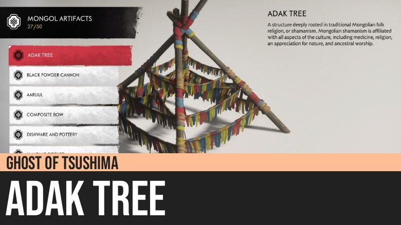 Ghost of Tsushima: Adak Tree