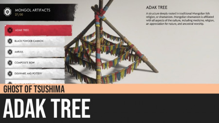 Ghost of Tsushima: Adak Tree
