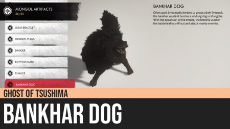 Ghost of Tsushima: Bankhar Dog