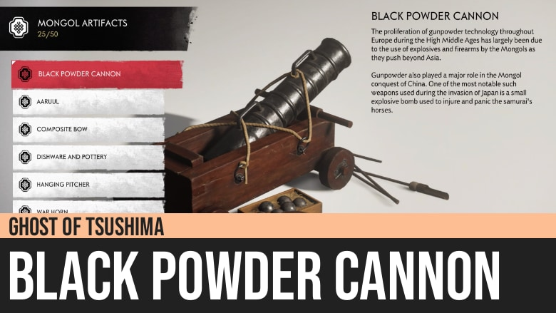 Ghost of Tsushima: Black Powder Cannon