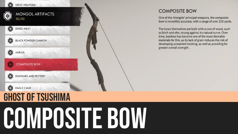 Ghost of Tsushima: Composite Bow