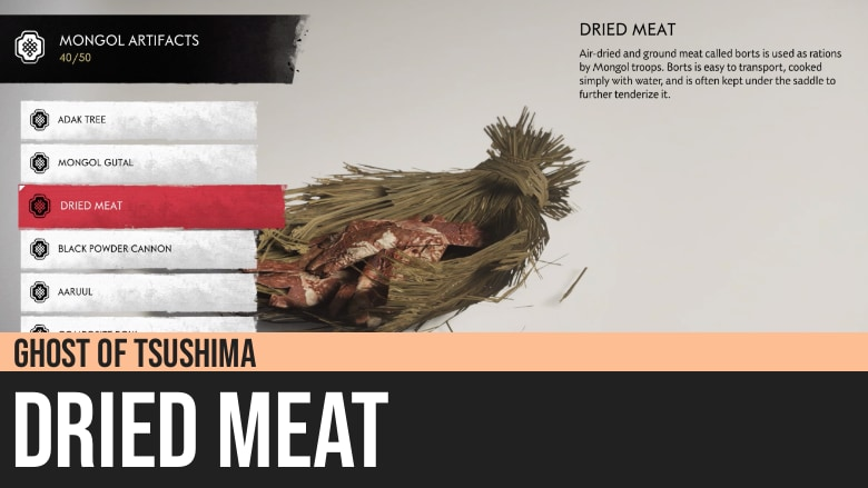 Ghost of Tsushima: Dried Meat