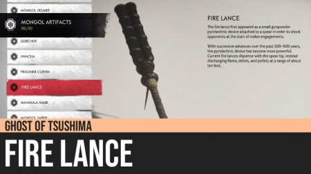Ghost of Tsushima: Fire Lance