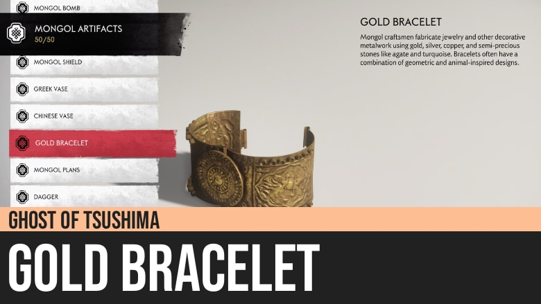 Ghost of Tsushima: Gold Bracelet