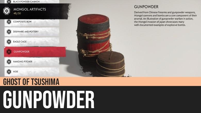 Ghost of Tsushima: Gunpowder