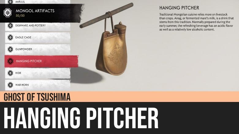 Ghost of Tsushima: Hanging Pitcher