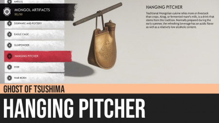 Ghost of Tsushima: Hanging Pitcher