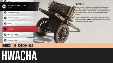 Ghost of Tsushima: Hwacha