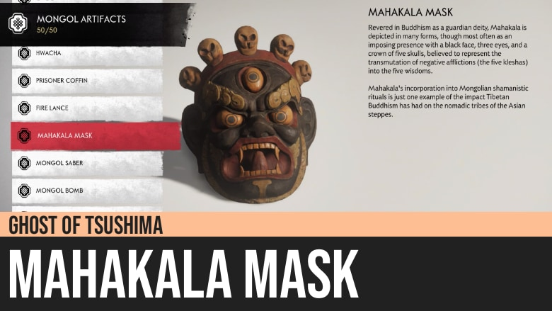 Ghost of Tsushima: Mahakala Mask