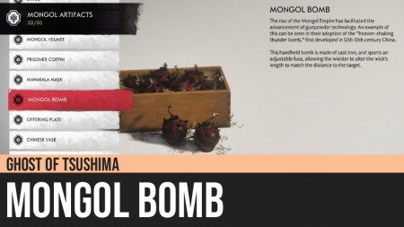 Ghost of Tsushima: Mongol Bomb