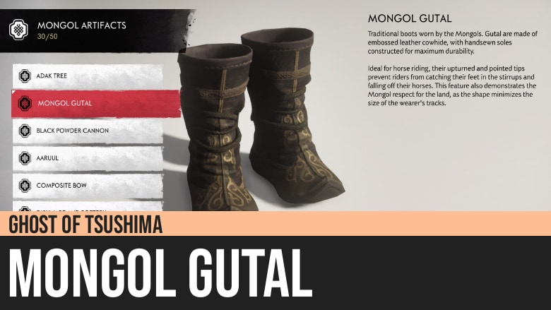 Ghost of Tsushima: Mongol Gutal