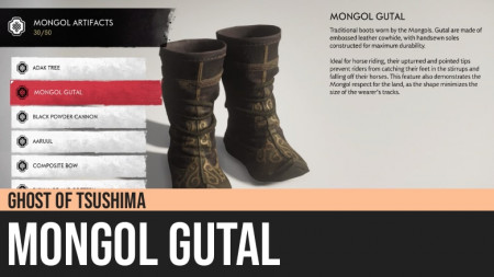 Ghost of Tsushima: Mongol Gutal