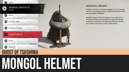 Ghost of Tsushima: Mongol Helmet