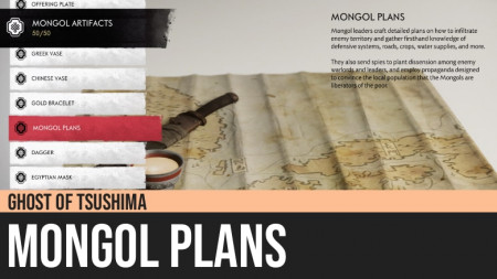 Ghost of Tsushima: Mongol Plans