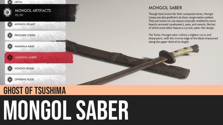 Ghost of Tsushima: Mongol Saber