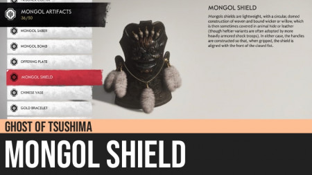 Ghost of Tsushima: Mongol Shield