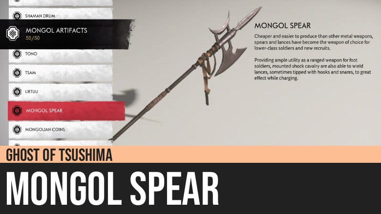 Ghost of Tsushima: Mongol Spear