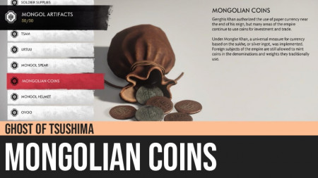 Ghost of Tsushima: Mongolian Coins