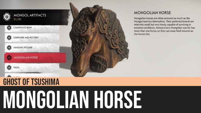 Ghost of Tsushima: Mongolian Horse