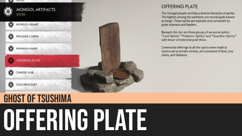 Ghost of Tsushima: Offering Plate