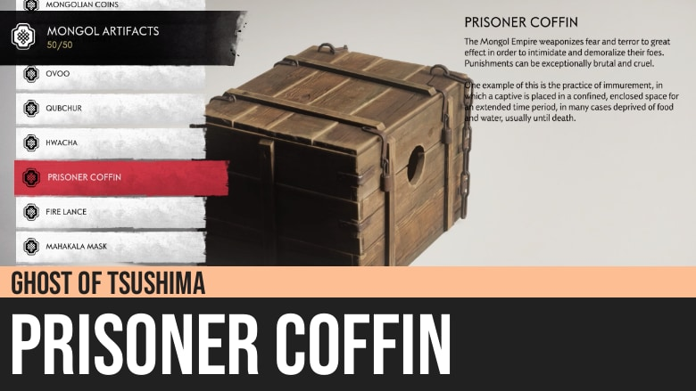 Ghost of Tsushima: Prisoner Coffin