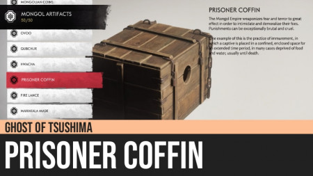 Ghost of Tsushima: Prisoner Coffin