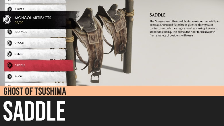 Ghost of Tsushima: Saddle