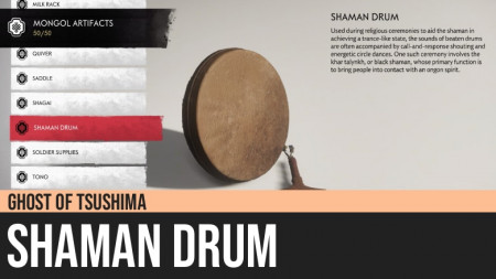 Ghost of Tsushima: Shaman Drum