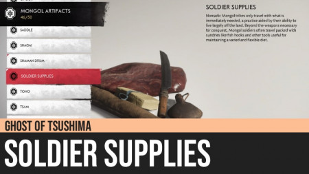 Ghost of Tsushima: Soldier Supplies