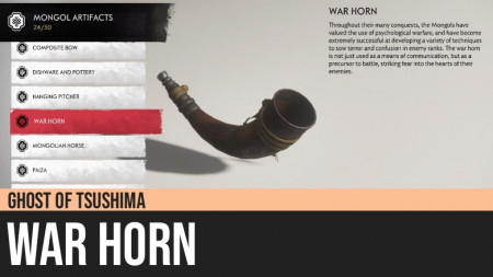 Ghost of Tsushima: War Horn