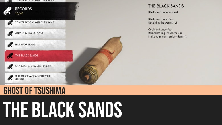 Ghost of Tsushima: The Black Sands